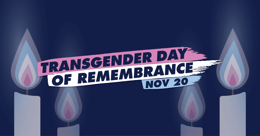 Transgender Day of Remembrance Poster